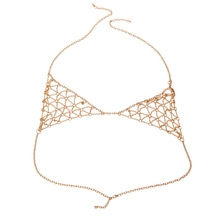 New Popular Chain simple retro Body chain necklace fashion Bikini Chain Bra Body chains for women sexy fashion jewelry STL09