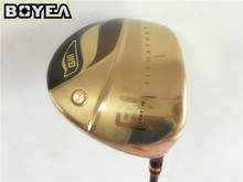 Boyea GIII Driver Gold Boyea Golf Driver Golf Clubs 9/10 Degree R/S Flex Graphite Shaft With Head Cover