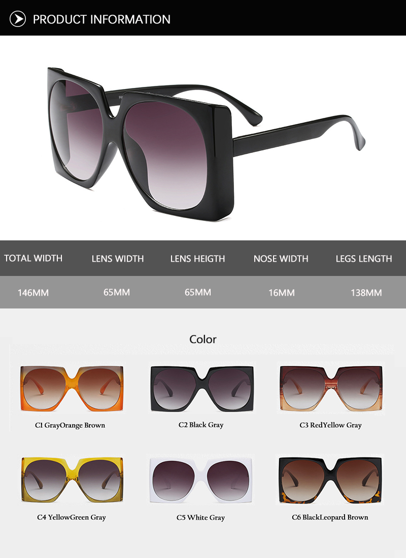 2018 News Square Sunglasses (57)