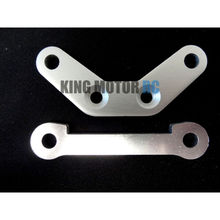 King Motor Front Hinge Pin Supports, Braces (2) Fits HPI Baja 5B 2.0 SS 5T Buggy(China)