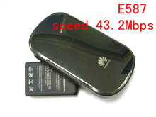 Huawei MiFi E587 3G 4G lte wifi wireless hotspot Router unlocked 43.2mbps mobile WIFI sharing 3g Modem dongle