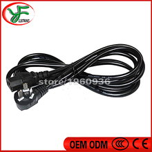 Free shipping 220V10A power cord British standard cable PC Monitor the power cord game machine power cable