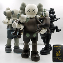 New OriginalFake KAWS figure kaws clean slate 16inch 3 color medicom toy with retail box