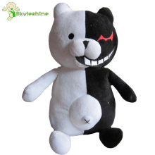 Skyleshine New Arrival 25cm Dangan Ronpa Monokuma Doll Plush Toys Black & White Bear Pink & White Rabbit Gift#ML239