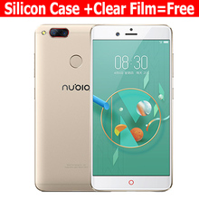 Original Nubia Z17 Mini LTE Mobile Phone 4G Ram 64G Rom 5.2 inch 1920 x 1080P Front 16.0MP Dual Rear 13.0MP Fingerprint NFC(China)