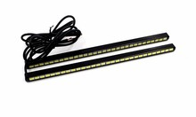 2Pcs/lot 5630 DRL Led Daytime Running Lights 20.5CM 30SMD Car Light Source Styling Waterproof White Fog Lamp
