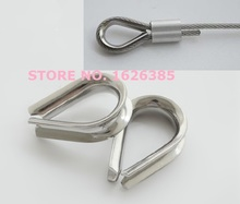 M2--M3 304 stainless steel wire rope thimble part ring rigging hardware ,boat part,marine hardware(China)