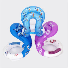 Happy Swim Ring Inflatable Swimming Rings for Adult Children Baby Water Fun Toy Pool Float Arm Floats Swim Circle(China)