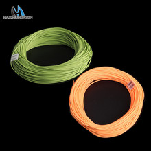 Maximumcatch High Quality 2-8WT Fly Fishing Line 100FT Double Taper Floating Fly Line Green/Orange Color For Fly Fishing(China)