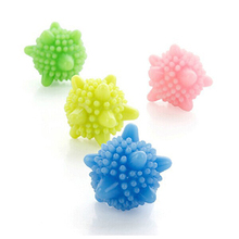 Hot Selling New Arrival 4pcs/Lot Magic washing ball Laundry ball washing machine accessories(China)