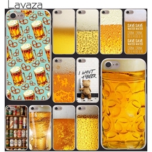 Lavaza The Iced A Glass of Beer Cool Summer Bubble bear phone Hard Clear Skin for iPhone 4 4s 5 5s SE 5c 6 6s 7 7 plus cool(China)