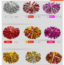 New 1pcs Professional school Cheerleading supplies of aerobics dancing Cheerleaders hand flowers Pompom,Cheerleading Products