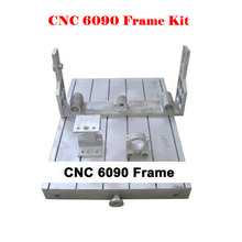 Freeshipping! cnc 6090 aluminum frame cnc router engraving machine parts, lathe bed