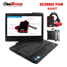 Original Automotive Diagnostic Scanner VDM UCANDAS V3.9 with Lenovo X200T Diagnostic Computer & Softwares Life Time Update Free