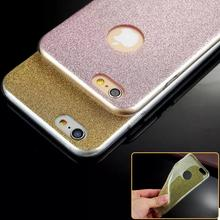 Luxury Slim Glitter Bling Shinning Sparkling Girl's Soft TPU Case Cover for Apple iPhone 6 6s for iPhone 6 Plus 6S Plus Cheap