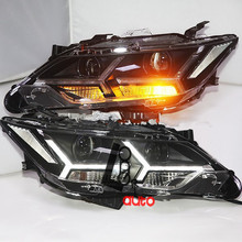 Headlights With LED DRL And Bi-xenon Projector For Toyota Camry 2015