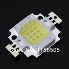 Wholesale 50pcs/lot 10W 900LM LED Chip Bulb IC SMD Lamp Light White High Power Chip (Free Shipping / Quality Assurance 3 years)