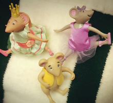 Original Japan Cute Dance Mouse Ballet Figure Toy Collection Cos Material Birthday Gift