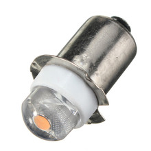 Newest P13.5S PR2 0.5W LED For Focus Flashlight Replacement Bulb Torches Work Light Lamp 60-100Lumen Pure Warm White DC3V 6V