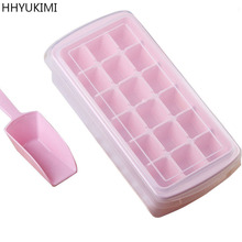 HHYUKIMI Novelty Ice Cube Make rcream Tray Mold Summer Organizer Sphere Mould Drinking Glass Bar Big Round Ball Brick Tools(China)