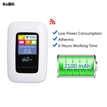 Unlocked Mini 4G WIFI Router Portable 100Mbps Mobile Hotspot Portable Car LTE Cable Modem Wireless 3G 4G Wi-Fi Router(China)