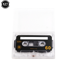 1pcs Standard Cassette Blank Tape Player Empty 60 Minutes Magnetic Audio Tape Recording For Speech Music Recording high qulity(China)