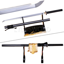 Full Tang Handmade Forged Japanese Samurai Straight Blade Sharp Ninja 1060 High Carbon Steel Sword(China)