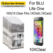 For BLU Life One High Definition (HD) Clear Screen Protector Guard With Retail Package Film With Retails Package Free Shipping(China)