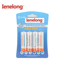 4pcs/lot Original AA 1.2V 2100mAh For Ienelong rechargeable AA Ni-MH battery