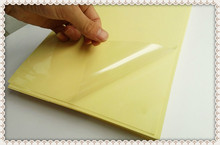 High quality 25 micron thickness A4 blank clear/transparent label sticker paper for laser printer