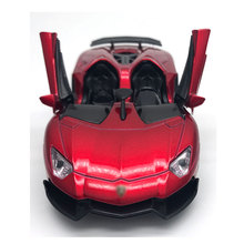 Four Colors Diecast Metal Alloy Car 1:32 Pull Back Sport Car Model Simulation Autos with Sound&Light Boys Collection Oyuncak(China)