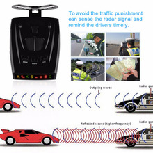 NEW Car Radar Detector Laser Anti Radar Detector Voice Strelka Alarm System Only for Russian car-detector(China)