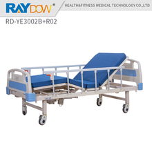 RD-YE3002B+R02 Raydow backrest and footrest adjustable electric medical hospital bed(China)