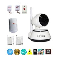 Wireless IP Camera HD WIFI 720P Night Vison Home Security Alarm System PTZ P2P Web Cam work with Alarma Sensor Accessories