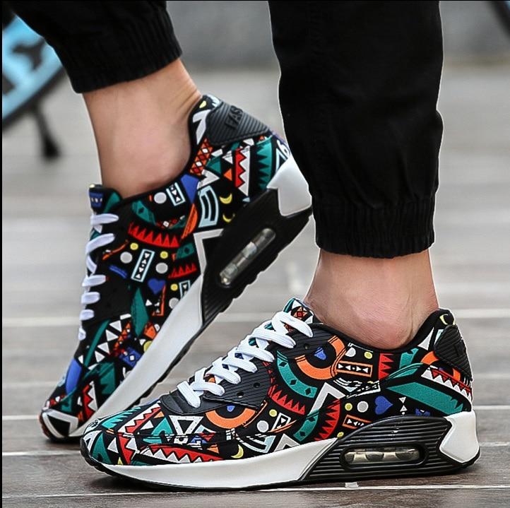 Zapatilla de deport mens fashion breathable outdoor trainers male multicolor canvas shoes unisex casual plus size street shoes<br><br>Aliexpress