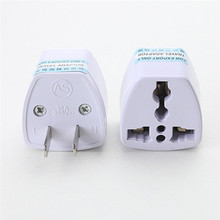 EU Europe To USA US UK Charger Power Plug Adapter Converter Wall Plug Home drop shipping 0811(China)