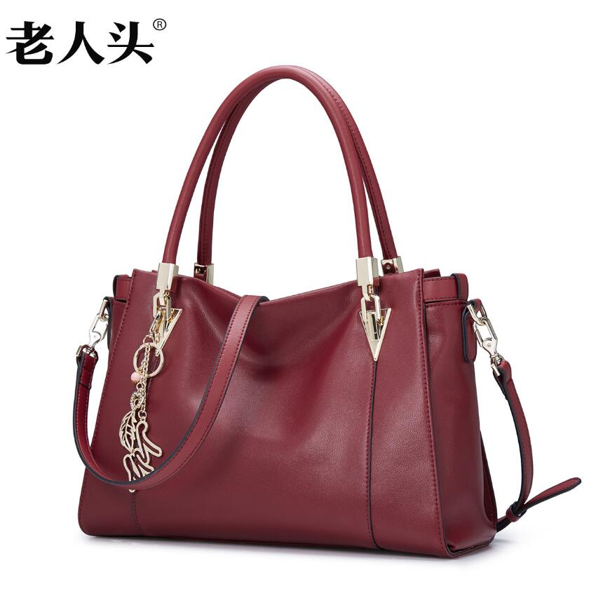 LAORENTOU New luxury handbag women bag designer genuine leather bag fashion Casual Tote bag women leather Handbags<br><br>Aliexpress