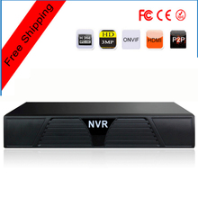 Low Cost 16ch HD H.264 ONVIF NVR Network Video Recorder with Motion Detection & SATA HDD for Local Recording & Free Shipping