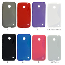 Besegad S Line Flexible TPU Protective Case Cover Shell for Nokia Lumia 630 635 638 coque fundas capa caso capinha accessories