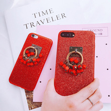 Bohemia Stone Strap Cellphone Dress Turquoise Color Fashion Mobile Phone Cases for iphone 6 6S 7 7Plus Beauty Cover Accessories