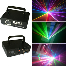 Mini LED RGB Laser Projector Stage Lighting Adjustment DJ Disco Party Club  with sd card Interface For Family Party/Holiday