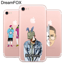 Buy DREAMFOX L504 Bad Bunny Soft TPU Silicone Case Cover Apple iPhone 8 X 7 6 6S Plus 5 5S SE 5C 4 4S for $1.39 in AliExpress store