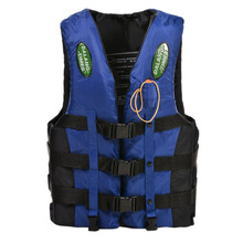 Dalang Times Boating Ski Vest Adult PFD Fully Enclosed Size Adult Life Jacket Blue XXL(China)