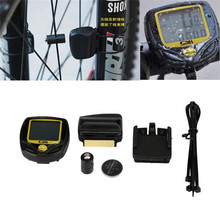 1PC Wireless LCD Bike Computer Speed Odometer Speedometer Cycle Bicycle Waterproof #2 M17