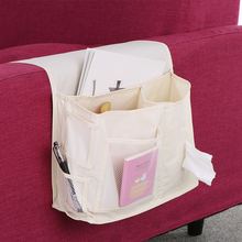 New Household bed Sofa hanging bedside Storage bag Hang Sundries ,Magazines, remote control,books, phone,Tissue Holder Organizer(China)