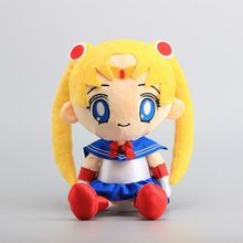 "Anime Sailor Moon Plush Toy Cute Stuffed Dolls 13"" 32 CM Girls Birthday Gift(China)"