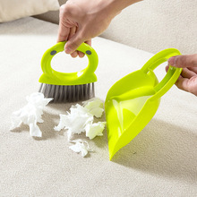 Mini Desktop Sweep Cleaning Hand Brush Dustpan Combination Packages Broom Small Table and a Dust Broom(China)