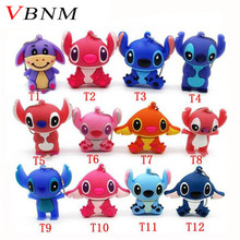 VBNM Lovely mini Stitch USB Flash Drive Pen drive Gift Animal cartoon pendrive 4GB/8GB/16GB/32GB memory stick(China)
