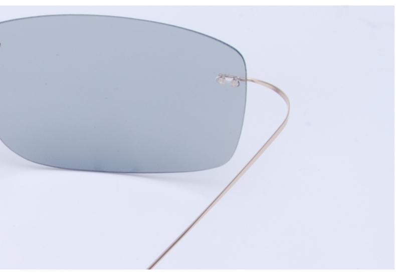 Vazrobe (5s Change Color) Photochromic Sunglasses Men Women Titanium polarized Sun Glasses Chameleon Rimless Anti-glare Driving 9