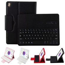 Stylish Protective Bluetooth 3.0 Keyboard PU Leather Detachable Stand Case Cover for Apple iPad 5/6  ipad air 1/Air 2 Pro 9.7